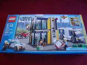 Lego City Bank Money Transfer 3661 New Unopened Factory