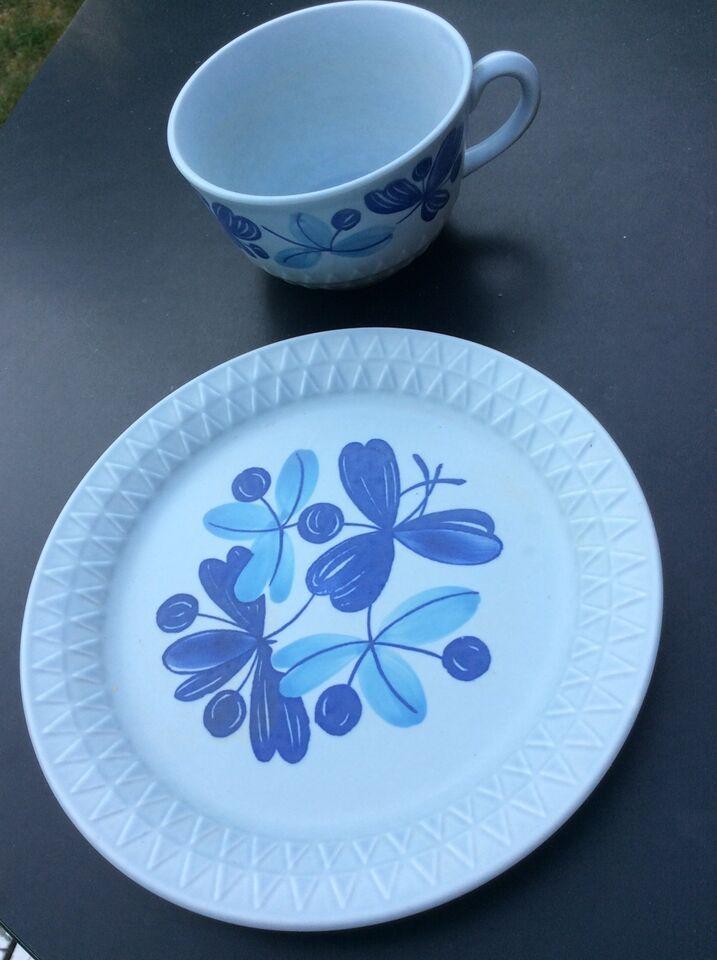 Porcelæn, Kop og tallerken, Stavangerflint