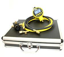 Hvac Single Digital Manifolds Refrigeration Ac Vacuum Gauge Meter Kit