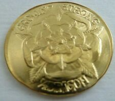 NEW Mace Tyrell Golden Half-Dragon Coin Game of Thrones Brass Shire Post USA
