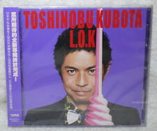 J-POP TOSHINOBU KUBOTA L.O.K 2015 Taiwan CD