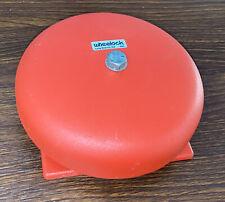 Wheelock Mb G6 24 Fire Alarm Bell 18 31 Vdc Red