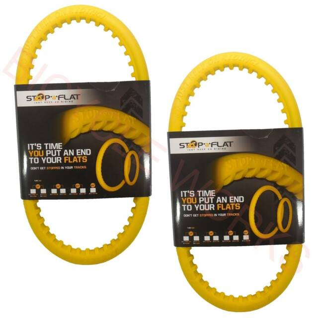 2X Puncture Proof Inner Tube Bicycle BMX MTB Tyre Prevent Stop A Flat Tire Bike