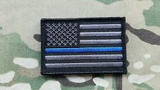 K9 Thin Blue Line 2x3  Police Tactical Hook Morale Patch SWAT Unit Sheriff