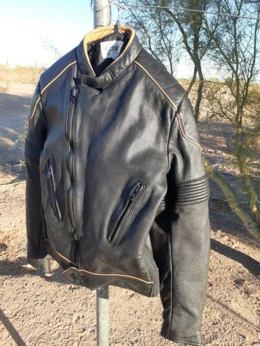 Schott leather motorcycle jacket Size 36