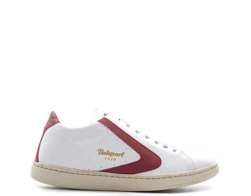 shoes VALSPORT men SNEAKERS TRENDY  BIANCO Pelle naturale TOURNAMENT-301