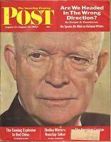 AUG 11/AUG 18 1962 SATURDAY EVENING POST - SEP vintage magazine EISENHOWER