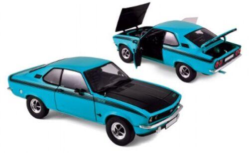 Norev 183633 manta a GT//E 1975 azul negro 1:18