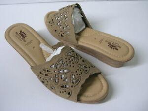 Spring Step Women/'s Estella Slide Sandal Beige