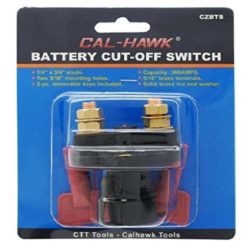 Cal Hawk 12 Volt Battery Disconnect Cut off Cutoff Kill ...
