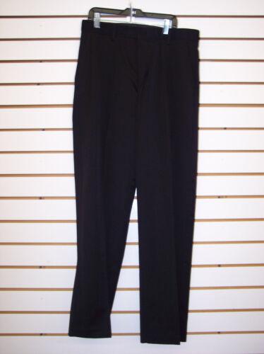Boys $22.00 Van Heusen Black Flat Front Dress Pants Size 20