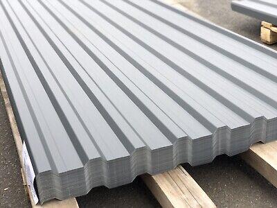 Zielsetzung Trapezblech Blech Profilblech 250x114cm Wellblech Dachblech Stahlblech Ral7024 Trapezbleche & Wellplatten
