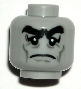 LEGO-Monster-Butler-Minifigure-Head-Halloween-Scary-Zombie-Face-10228