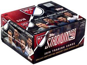 MLS Soccer Topps 2018 Major League Soccer Trading Card RETAIL Box
