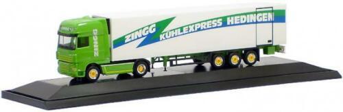 SSC refrigeración-ksz zingg PC Herpa camiones DAF 105 XF aerop