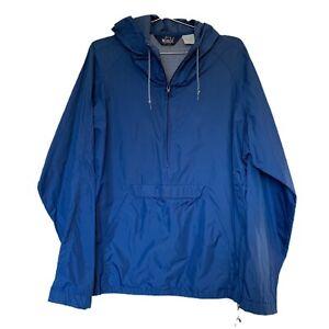 Vintage-Woolrich-Windbreaker-Packable-Jacket-Mens-L-Full-Zip-Mesh-Vent-Nylon
