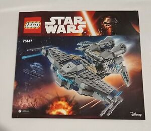 LEGO-Star-Wars-Star-Scavenger-75147-INSTRUCTIONS-ONLY