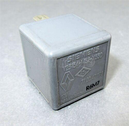 669-Renault //01-14 Multi-Use 5-Pin Grey Relay 7700421178 Siemens V23134-M52-X330