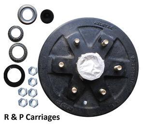 10-034-x-2-2-034-Trailer-Axle-brake-hub-drum-3500-Axel-6-x-5-5-034-Fits-ALKO-Dexter-kit