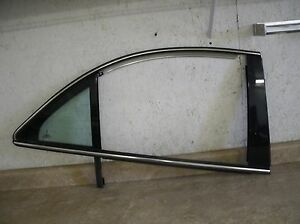 03 06 lincoln ls right rear door vent glass window for Back door with window that opens