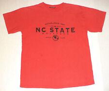 "STEVE & BARRYS SHORT SLEEVE RED T-SHIRT ""N.C STATE WOLFPACK ""     L       K#6995"