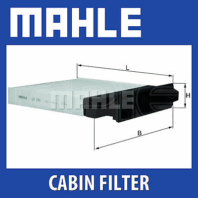 Mahle Polen Filtro De Aire la230 Fits Nissan, Renault cabina Filtro