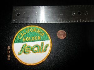 California-Golden-Seals-3-034-Patch-1970-1974-Primary-Logo-Hockey