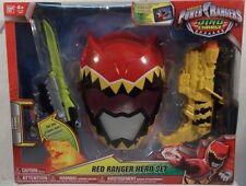 Power Rangers Dino Charge Red Ranger Hero Training Set Mask Morpher Saber (MISB)