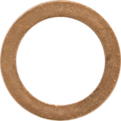 Copper Sump Washer 16.3mm x 25.4mm x 1.5mm Pack of 5