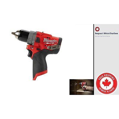 "Milwaukee 2504-20 M12 GEN II FUEL 12-Volt Brushless 1/2"" Hammer Drill / Driver"