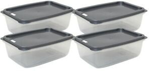 Set-Of-4-3-Litre-Plastic-Food-Storage-Containers-With-Vent-Grey-Lid-Rectangle