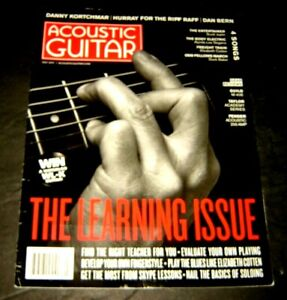 Acoustic Guitar magazine July 2017 The Learning Issue Elizabeth Cotton