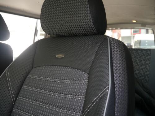 Sitzbezüge rot//schwarz DYN DAEWOO LANOS