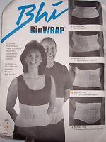 Biomedical Horizons Bhi Biowrap Trilon Back Brace Medium 13 Lumbosacral Support