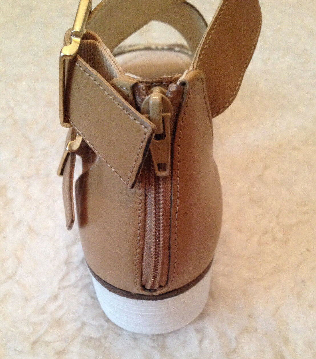 NIB 189 Gabor Sporty S Buckle NATURAL SNAKE BACK Damenschuhe ZIP Sandales 44572 Damenschuhe BACK 8 M cf3519