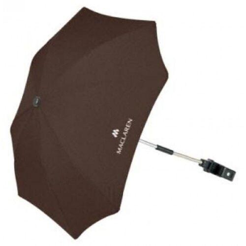 Coffee Brown Maclaren Universal Pushchair Sun Parasol