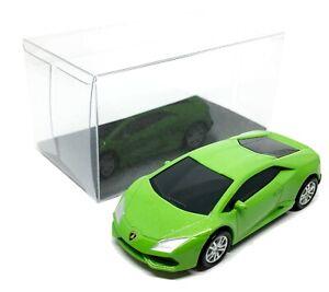 Lamborghini-Huracan-LP-610-4-Green-Diecast-1-64-2-5-034-RMZ-City-Free-Display-Box