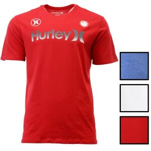 Hurley-Men-039-s-Dri-FIT-One-and-Only-Team-USA-Tee-T-Shirt