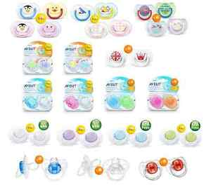 Philips Avent Scf180//23 Bpa-Free Contemporary Freeflow Soothers 0-6 Months 2 Pack