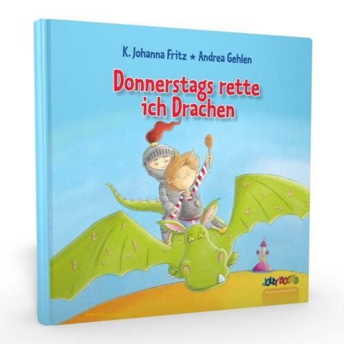 Donnerstags rette ich Drachen - personalisierte Geschichte für Kinder