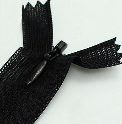 25 CM  Invisible Zippers for purse or bags manufacture 21 colors DIY NO.3