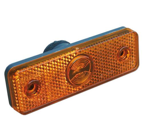 Luce Ingombro Laterale arancione Fanale Ricambi Camper Caravan Camion Flatpoint