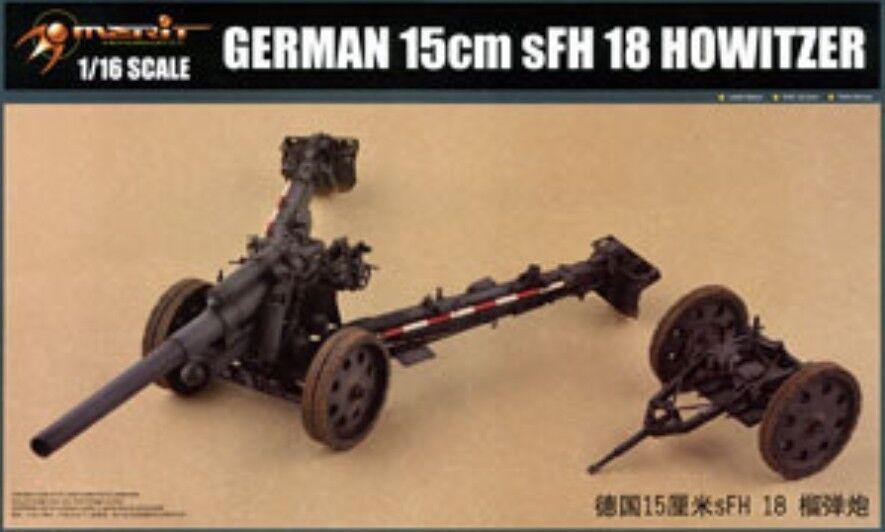 Merit 1 16 61603 German 15cm sFH18 Howitzer