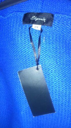new With Ladies Elegance rylic 100 Cardigan bleu Tag size18 xUwXq6H