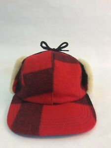 392f7bfc Image is loading Filson-Double-Mackinaw-Wool-amp-Shearling-Hunting-Hat-