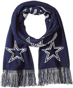 649bd1c0 Details about NFL Dallas Cowboys Big Logo Scarf Black New Style