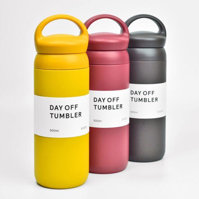 NEW KINTO 12oz Vacuum Insulated Travel Tumbler Coffee Tea Mug Water Bottle BLACK