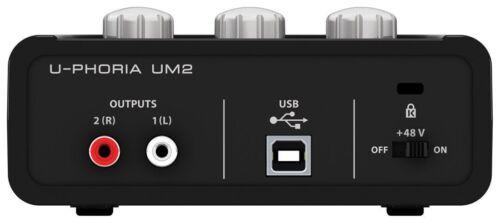 Behringer U-PHORIA 2x2 USB Audio Interface UM2