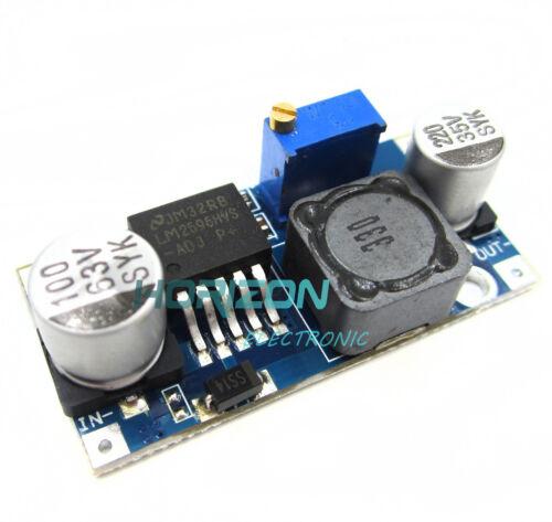 5PCS 45V Input DC Step Down Converter Adjustable Power Module LM2596HVS