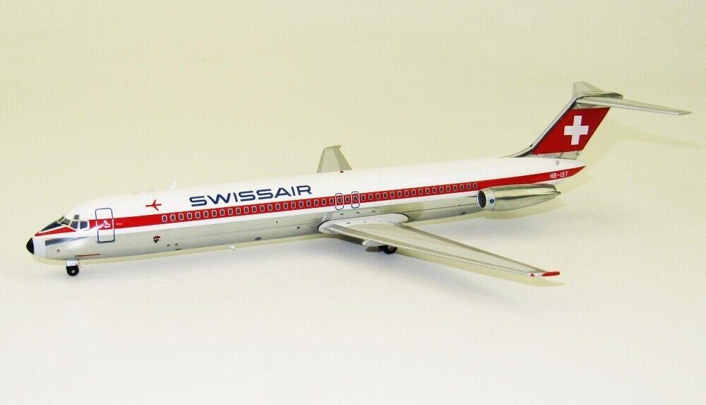 INFLIGHT 200 B-DC9-51-01 1 200 SWISSAIR McDonnell Douglas DC-9-50 HB-Ist con supporto
